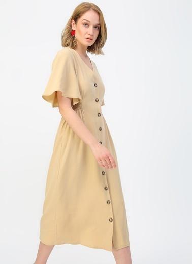 Fabrika Elbise Bej